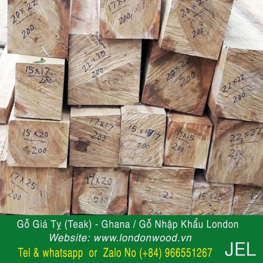 gỗ teak